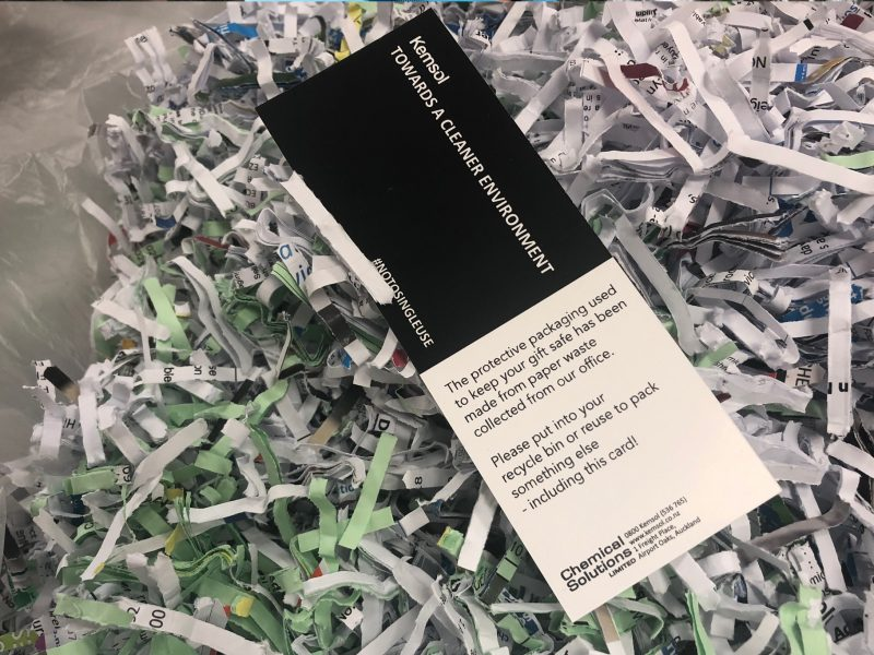 Shredded Paper Packaging